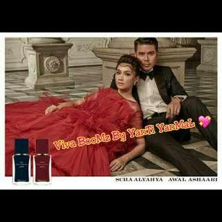 Awal Ashaari &Scha Alyahya Perfumes
