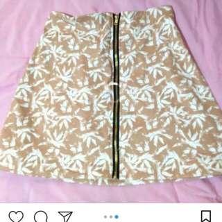 Zip A-lin Skirt