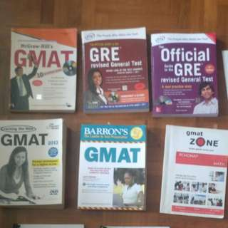 Gre gmat books - clearance