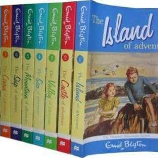 eBook - Enid Blyton's Adventure Series (8 Books)