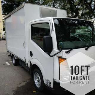 10Ft New Lorry with Tailgate for Rent