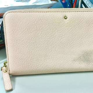 Authentic Kate Spade Wallet in peach pastel colour