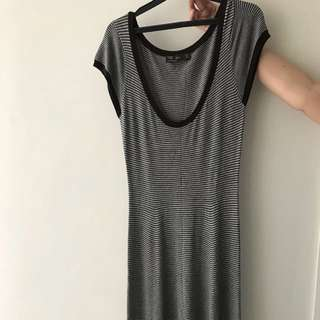 zara mid length dress