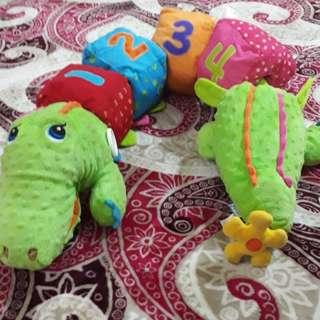 Crocodile soft toy KKidz