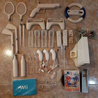 Nintendo Wii Game Console & Accessories.