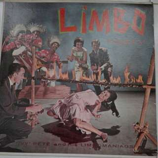 Limbo Party Ivy Pete And His Limbomaniacs Vinyl LP Record