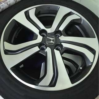 Honda City Rim V Spec