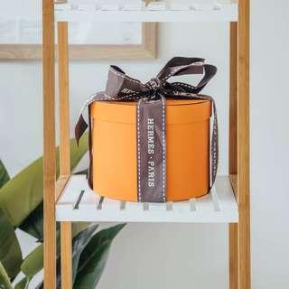 HERMES - Twilly X 3 In Box (AUS Buyers only) ✧ Tara Milk Tea