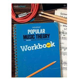 Rockschool Popular Music Theory Workbook (Grade 6 / 7 / 8)