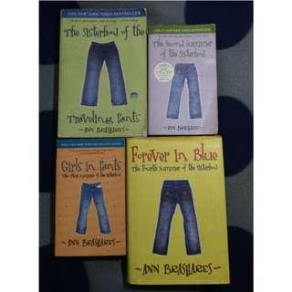COMPLETE SET Sisterhood of the Traveling Pants