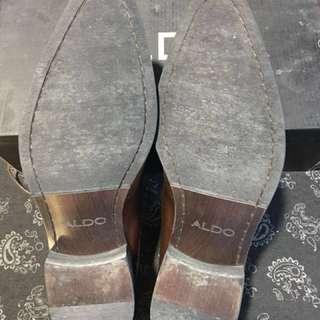 Aldo Dark Brown Shoes US8