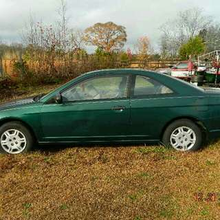 2001 Honda Civic LX 2 Dr Automtic **Negotionable