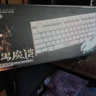 EWEADN LED Keyboard and mouse