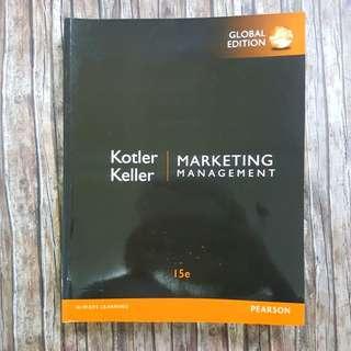 Marketing Management - Kotler Keller | Textbook | book | University | Marketing | School | Global edition