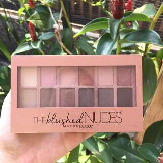 Maybelline The Blushed Nude Eyeshadow Palette