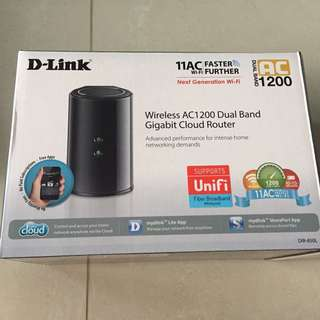 Dlink Router Ac 1200 wireless dual band gigabit cloud router