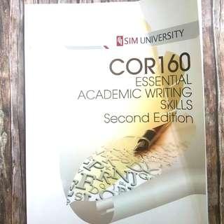 COR160 Essential Academic Writing Skills 2nd Edition | Textbook | School | Uni