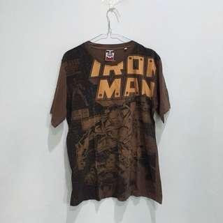 Baju kaos iron man