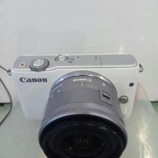 Camera Canon M10 Cashback DP 0% Bisa Cicilan Tanpa Kartu Kredit