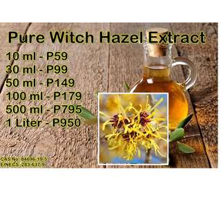 Pure Witch Hazel Extract