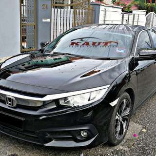 Honda Civic (FC) 1.5 Vtec Turbo [sambung bayar/continue loan]