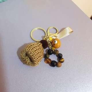 🚚 虎眼,毛帽,拉拉熊鑰匙圈
