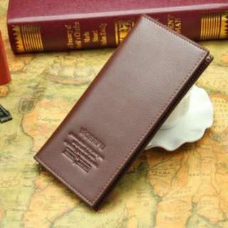 Dompet kulit pria model clutch ~ Brown