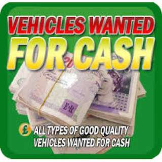 Sell Us Your Car Vehicles! All Wanted!!