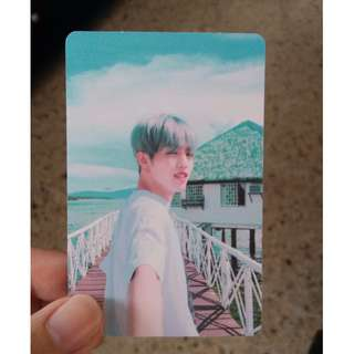 WTB SEVENTEEN TEENAGE GREEN VER SEUNGCHEOL Photocard