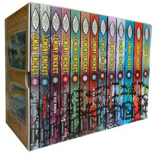 eBook - A Series of Unfortunate Events by Lemony Snicket (13 Books)