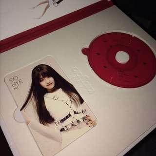 i.o.i sohye photocard