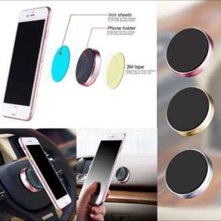 Mini Magnetic Mobile Phone Holder Car Dashboard Bracket Cell Phone Holder Stand