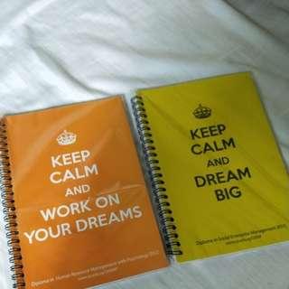 RP Motivational Notebooks