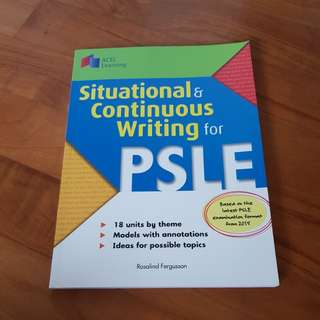 PSLE situational & continuous writing