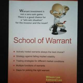 School of Warrant. Wilson Lee. Edmond Lee.