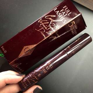 BNIB Charlotte Tilbury Full Fat Lashes 5 Star Mascara Glossy Black
