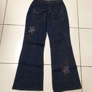 Celana Jeans Cutbray