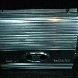 LV 660 800WATT 4CH AMP