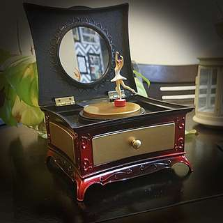 Vintage classical music box
