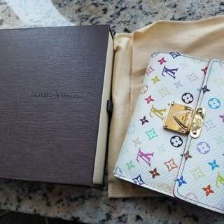 LV White Monogram Multicolor Wallet