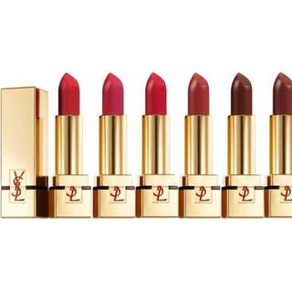 LIPSTICK YSL - ROGUE PUR COUTURE - 6 pcs