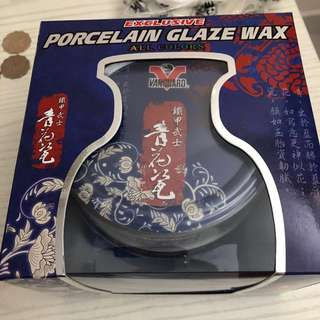汽車打蠟 Wax Porcelain Glaze Wax 鐵甲武士 青花瓷