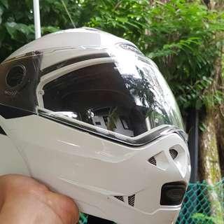 """Caberg Duke Modular FlipUp Helmet Size 59-60CM """"L""""."""