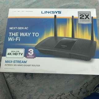 Linksys rOuter AC 1900+