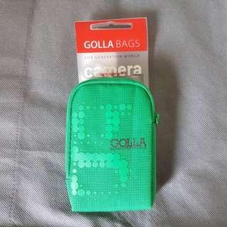 全新 Golla 影相機袋 / 手提電話袋 (digital camera bag / mobile phone bag), 100% new, 內有小暗格,可放相機/電話卡 (Camera / phone/ Sim card)