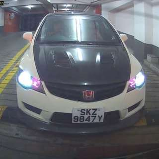 Honda Civic Rental 2013 model for grab or uber