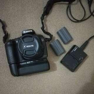 Canon 20D + Battery Grip BG-E2