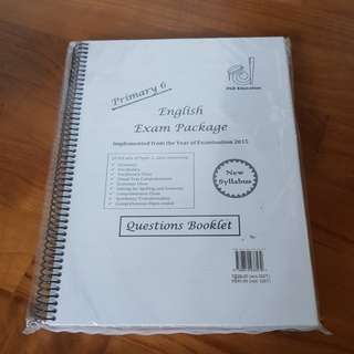 PSLE Primary 6 English exam papers