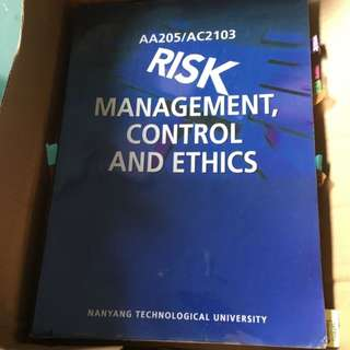 AA205/ AC2103 Risk Management Control And Ethics