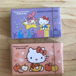 Sanrio Hello Kitty Eva Air Poker Cards